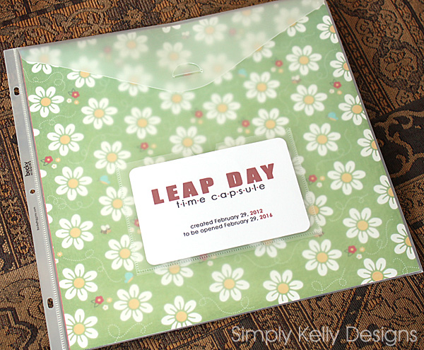 Leap Day Time Capsule | Simply Kelly Designs