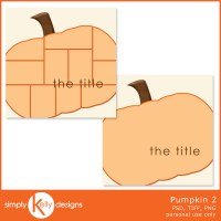 { New Release } Pumpkin 2 Template