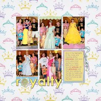 { Layout Inspiration } Disney Cruise