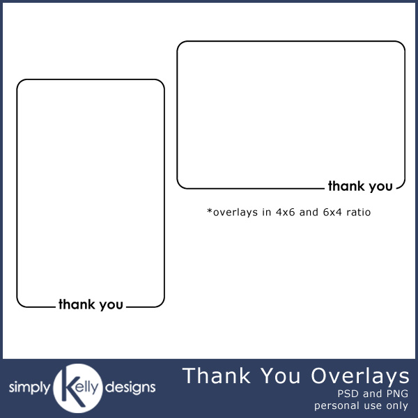 Photo Thank You Cards by Simply Kelly Designs