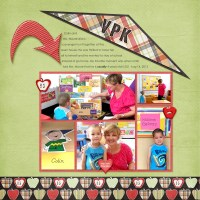 Layout Inspiration: Back To School