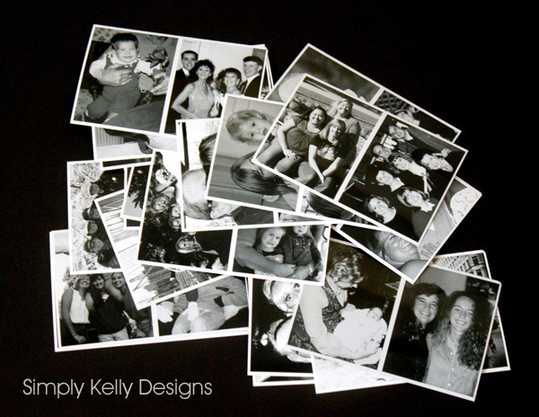 40th Birthday Photo Collage by Simply Kelly Designs