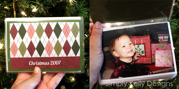 Christmas Brag Books by Simply Kelly Designs