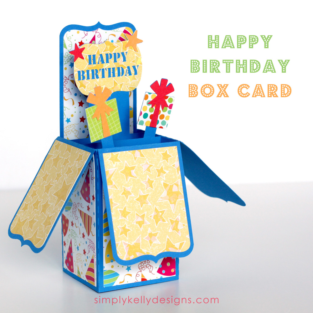 Happy Birthday Box Card