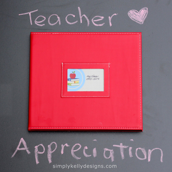 Teacher Appreciation Project Life Album by Simply Kelly Designs #teacherappreciation #projectlife #pocketscrapbooking #simplykellydesigns