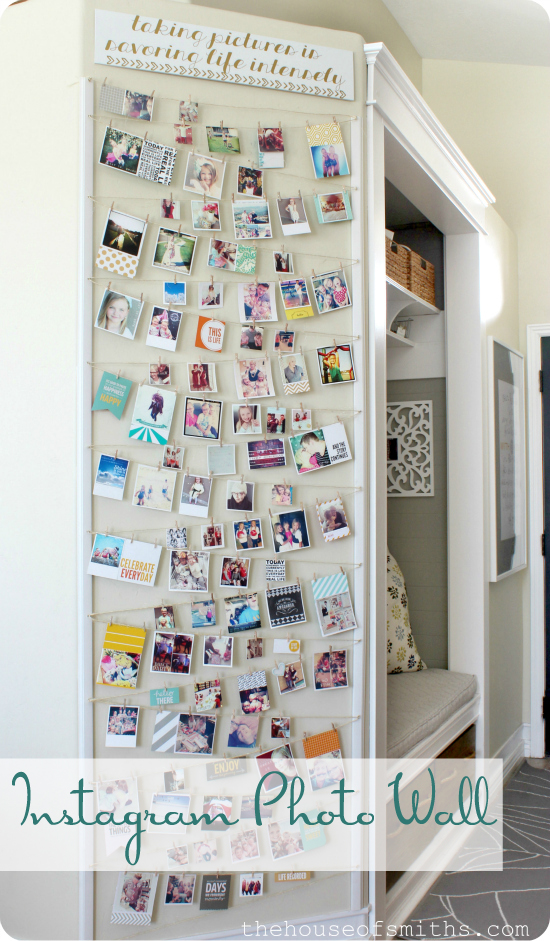 Instagram Photo Wall by House of Smiths