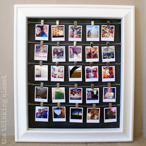 Instagram Advent Calendary by The Thinking Closet