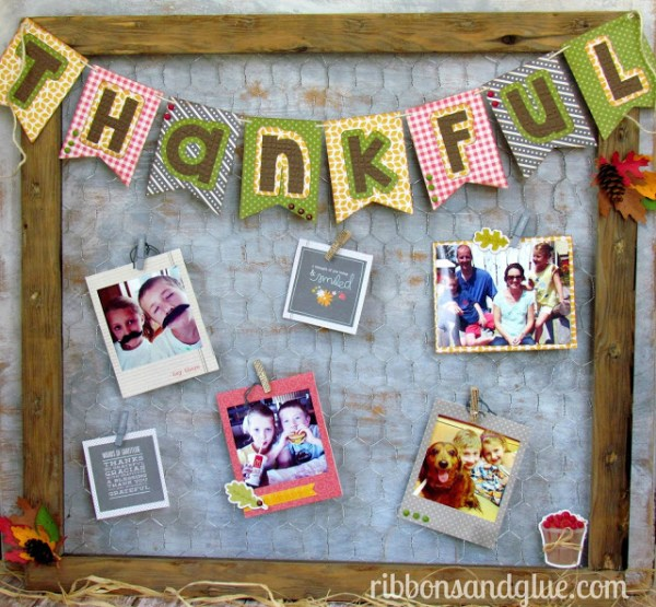 Chicken Wire Frame by Ribbons and Glue