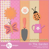 In The Garden Mini Kit by Simply Kelly Designs