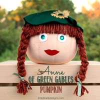 Anne of Green Gables Pumpkin | An Alternative To Pumpkin Carving