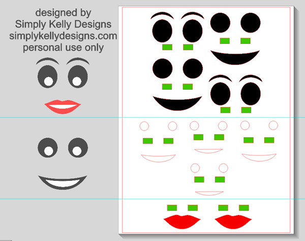 photograph about Lego Faces Printable referred to as LEGO Encouraged Trick or Handle Buckets With Totally free Printable