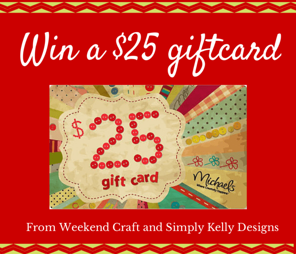 $25 Gift Card Giveaway | Simply Kelly Designs #giveaway #holidaycraftparty