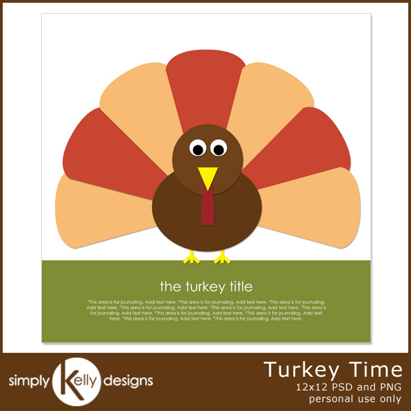 Turkey Time by Simply Kelly Designs