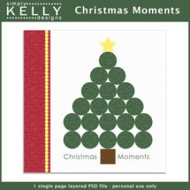 Christmas Moments Template by Simply Kelly Designs