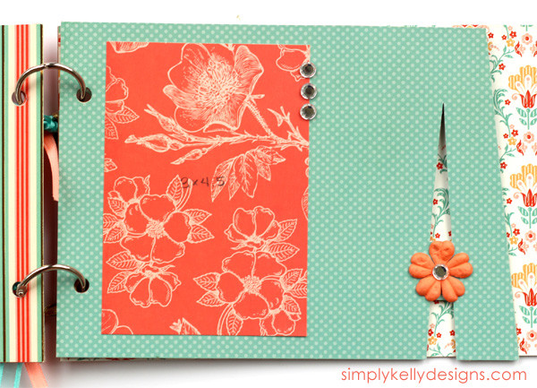 How To Make A Chipboard Album With The Silhouette by Simply Kelly Designs #chipboard #chipboardalbum #papercrafting #SilhouetteRocks