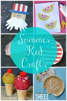 14 Summer Kid Crafts