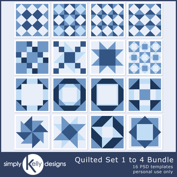 SimplyKellyDesigns_Quilted_Set_1to4_Bundle