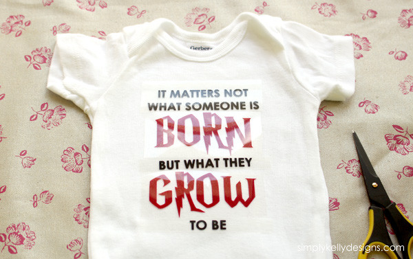 Harry Potter Onesie by Simply Kelly Designs #harrypotter