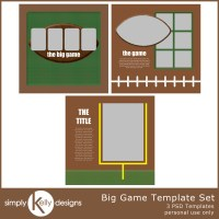 Big Game Templates