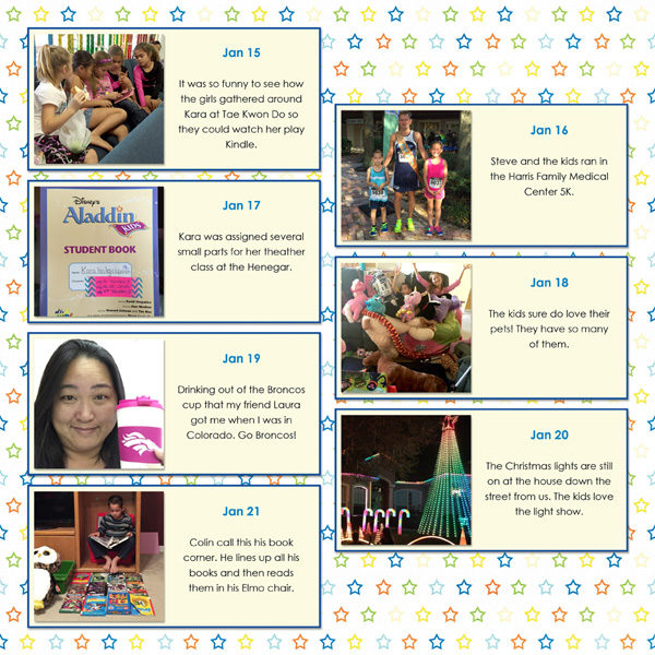Project 365 layout