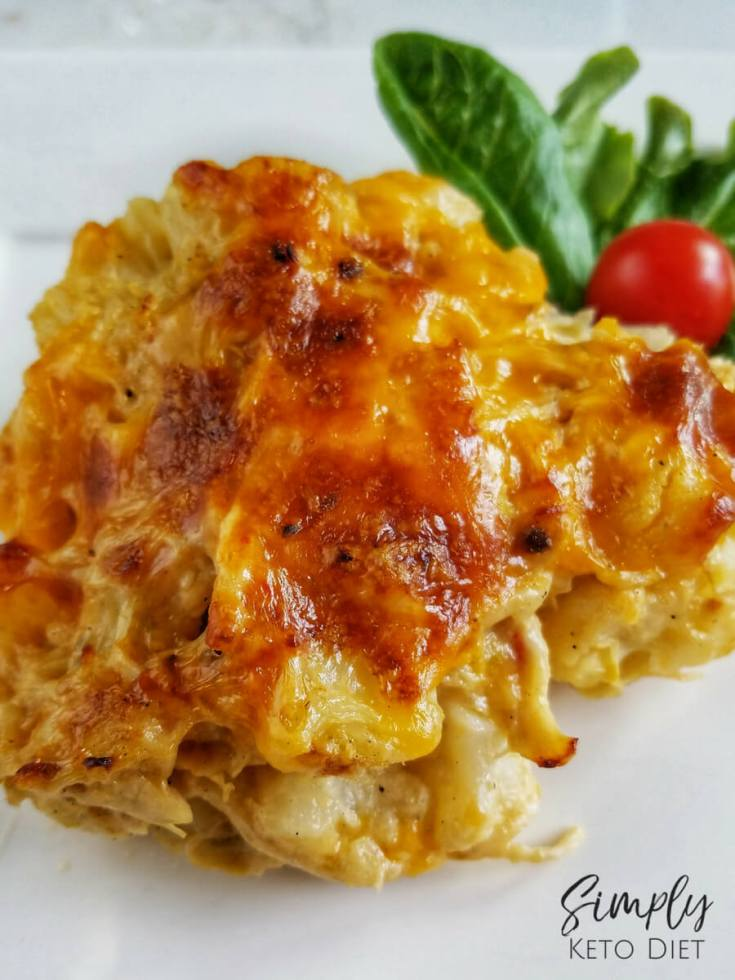 Green Chili Chicken and Cauliflower Enchiladas