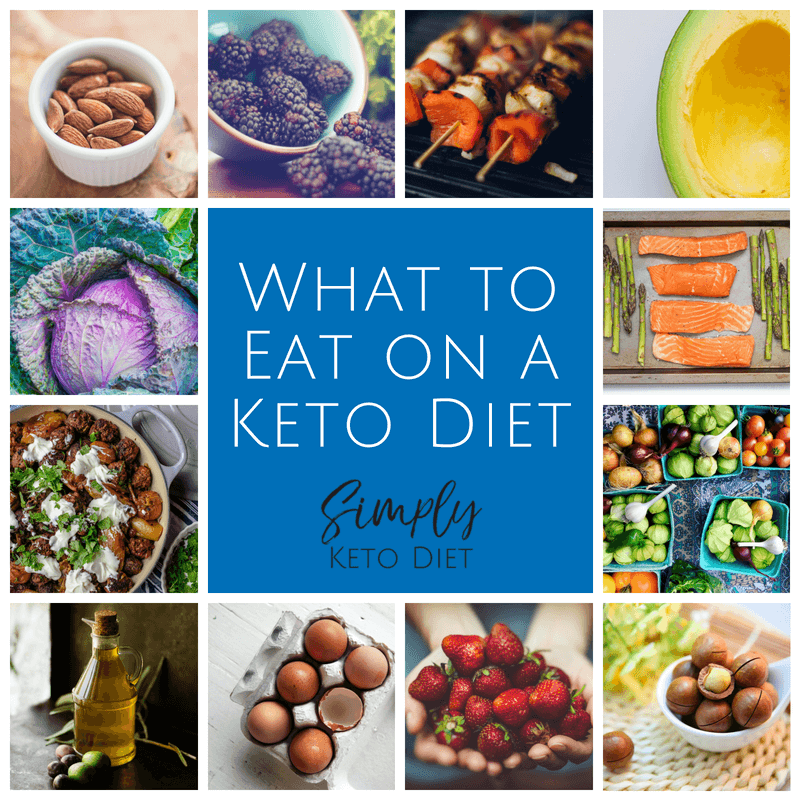 What foods to eat on the keto diet