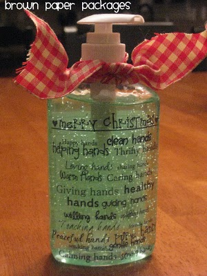 Christmas Hand Sanitizers Simply Kierste Design Co
