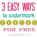 How to watermark your photos for free three easy amp free tutorials for