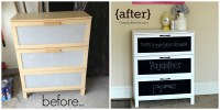 Before & After: Laminate Dresser Makeover | simplykierste.com