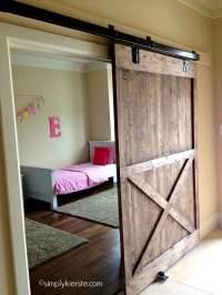 Installing a Sliding Barn Door...How Easy Is It ...