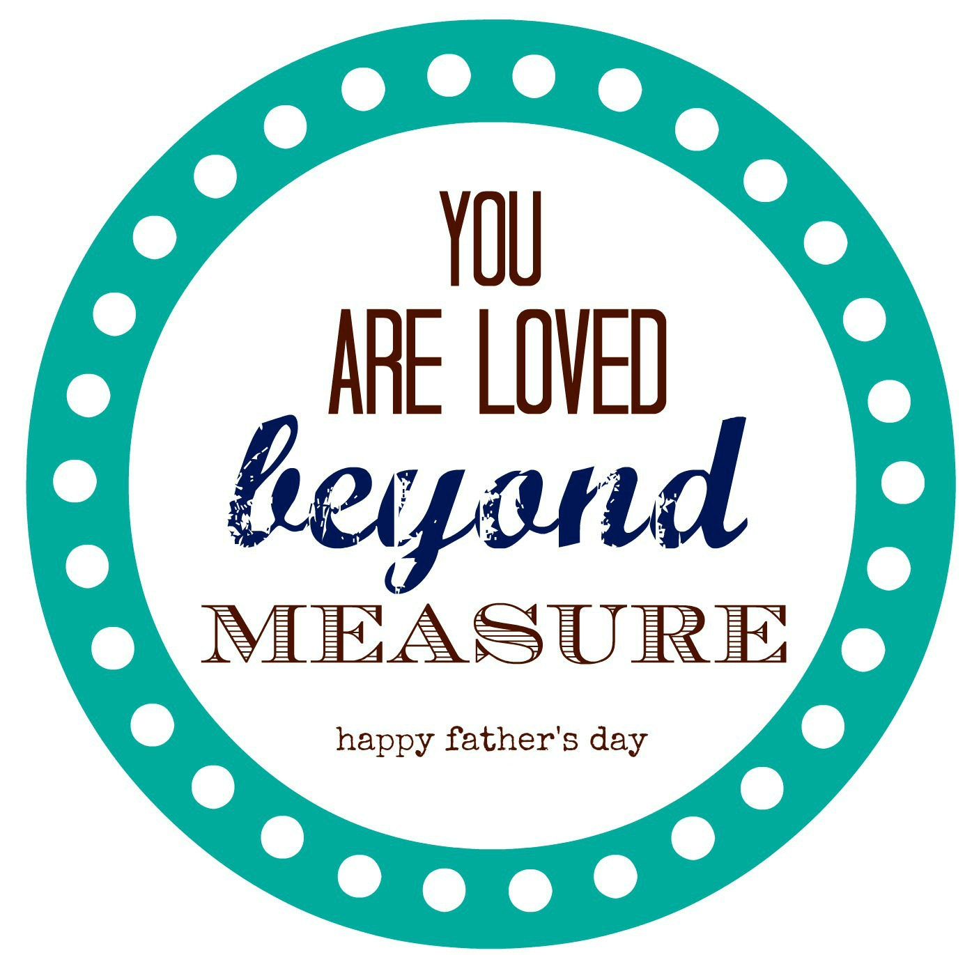 Father S Day Measuring Tape T Amp Printable