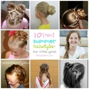 fun summer hairstyles little