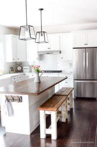 DIY Kitchen Benches - Simply Kierste Design Co.