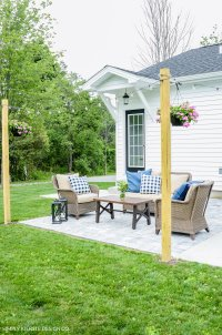 Backyard Patio Makeover - Simply Kierste Design Co.
