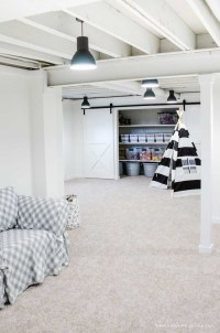 Our Painted Basement Ceiling (White): Why We Love It!