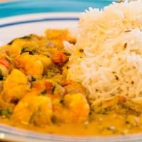 Pakistan style Prawn Curry