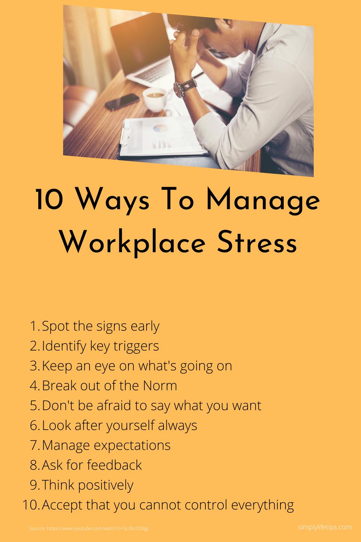 Manage Workplace Stress