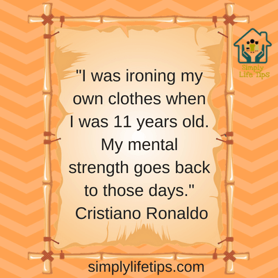 Mentally Strong Parents Cristiano Ronaldo Quote