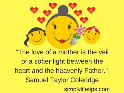 Samuel Taylor Coleridge Inspiring Mother Quotes