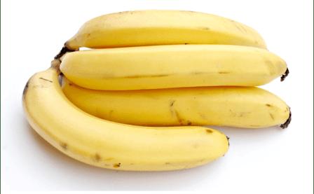 Increase Weight With Bananas - 4 Nos. Yellow Colour Big Bananas