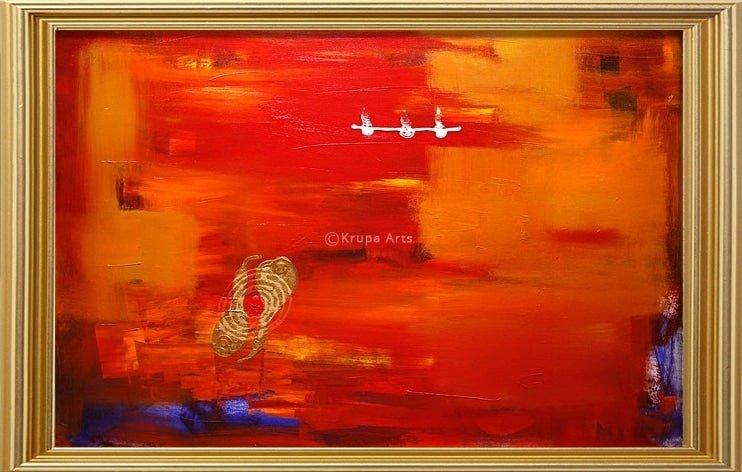 Myths About Abstract Artists  Krupa Shah Krupa Arts (1)