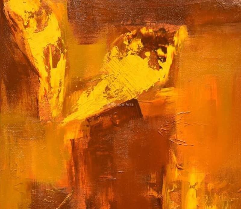 Myths About Abstract Artists  Krupa Shah Krupa Arts (8)
