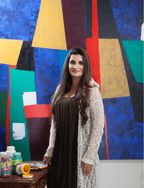 Krupa Shah Myths About Abstract Artist