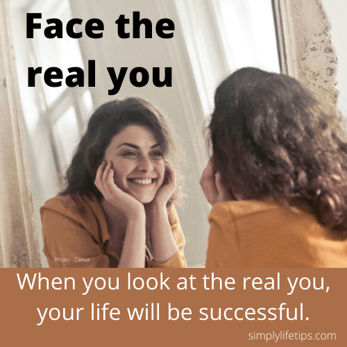 Power of thought - Face The Real You