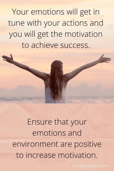 Motivation Positive emotion stop bad habits