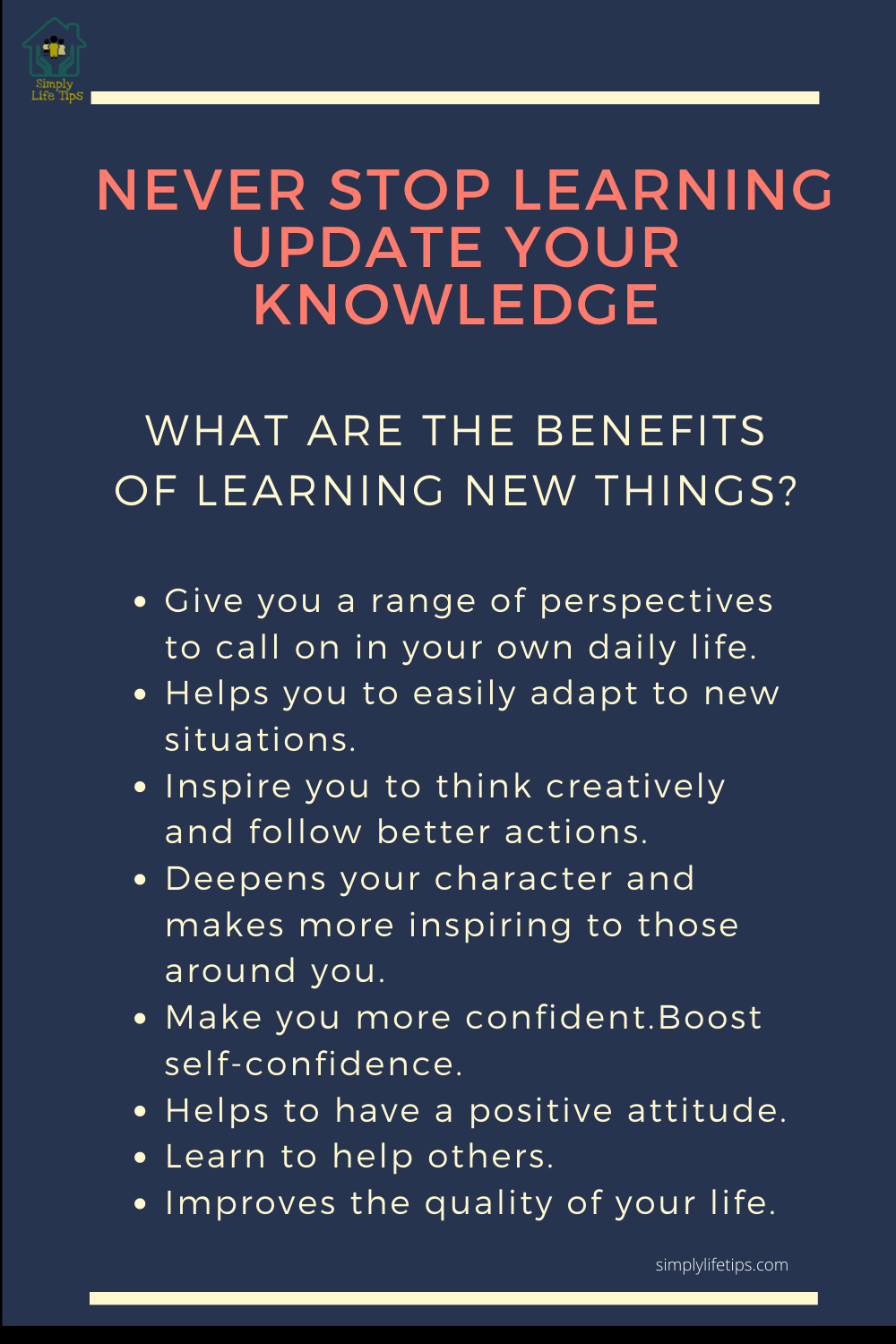 Benefits of learning new things