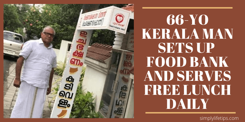 Kerala Man Sets Up Food Bank And Serves Free Lunch Daily