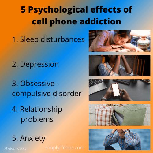 Nomophobia Psychological Effects