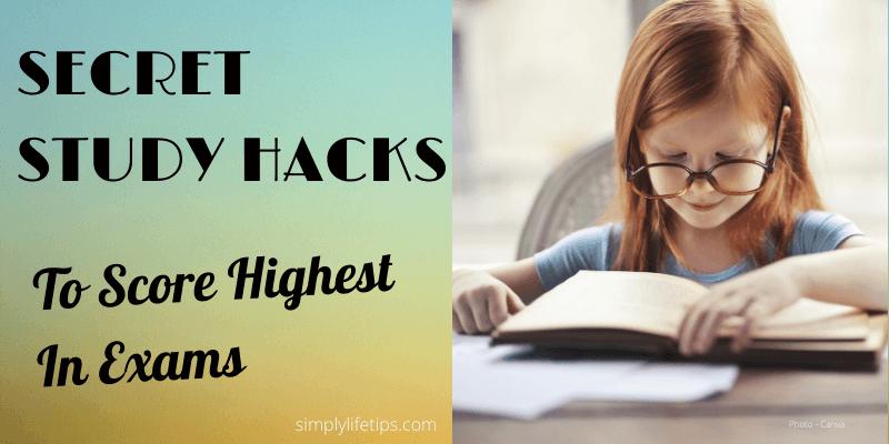 Secret Study Hacks