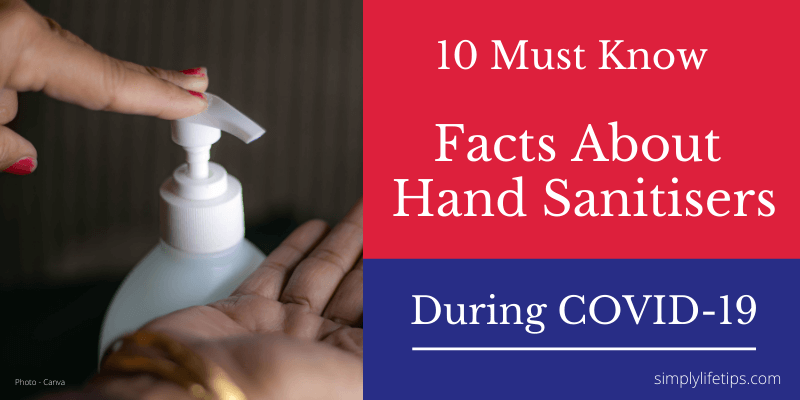 Facts About Hand Sanitisers During COVID-19